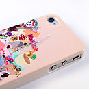 Stickers case for iPhone 4/4S