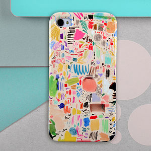 Scribbles By Mia Christopher Case For IPhone - bags & purses