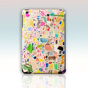 Mia Christopher Scribbles Case For iPad Mini