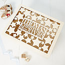 Personalised Star Baby Keepsake Box