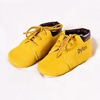 Personalised Baby Suede Cruisers
