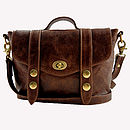 Rustic Brown Mini Satchel