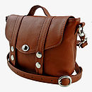 Tan Mini 'Satchel' Handbag