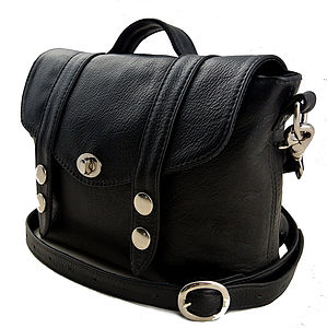 Black Mini 'Satchel' Handbag - shoulder bags