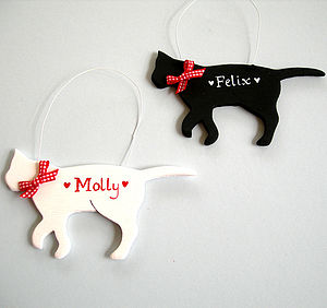 Personalised Cat - view all decorations