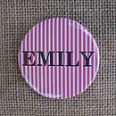 Personalised Badge Or Keyring