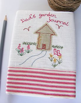 Personalised Garden Shed Notebook Journal