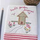 Personalised Garden Shed Notebook