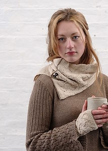 Alpaca Cable Knit Snood Special Price