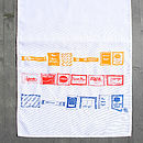 Sugar 'N'' Sweetener Tea Towel