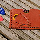Personalised Plectrum And Card Holder