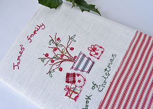 Personalised Christmas Notebook - christmas home accessories