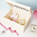 Large Personalised Baby Keepsake Box