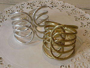 Silver Or Gold Cuff - women's jewellery