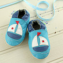 Boat Soft Leather Baby Shoes