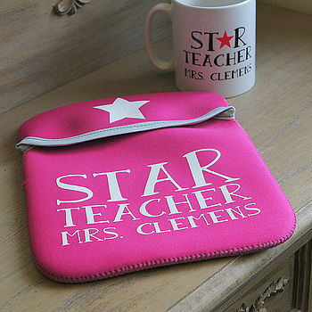 Personalised Teacher's Cover For Ipad