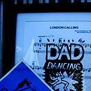 Personalised 'Dad Dancing' Sheet Music Poster