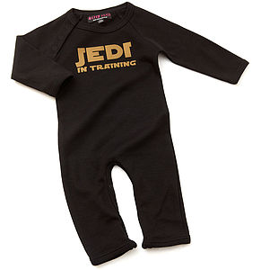 Jedi In Training Babygrow