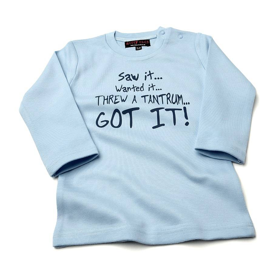 Funny Baby T Shirt