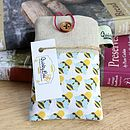 Linen Bee Lovers Case For Iphone