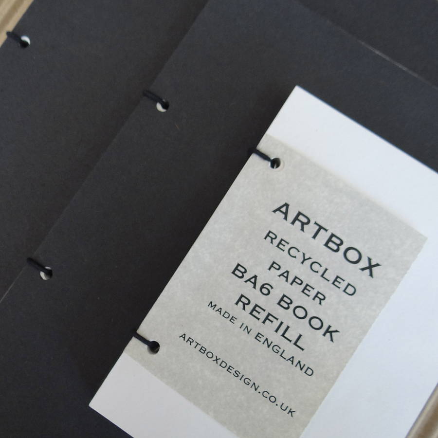 Basic book and refill by artbox notonthehighstreet basic book and refill reheart Image collections