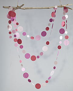 Circle Garlands - room decorations
