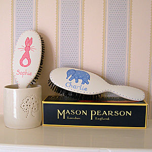 Pure Bristle Mason Pearson Hairbrush - children's decorative accessories