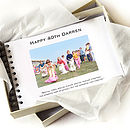Personalised Birthday Keepsake Book