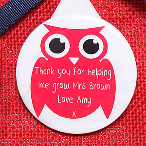 Owl Key Ring Magnet Or Bottle Opener, Teachers Gift - kitchen