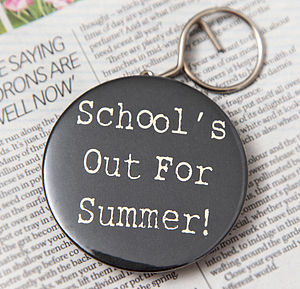 Personalised Teachers Bottle Opener Key Ring