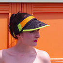 Billie Bright Straw Visor