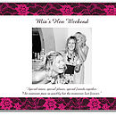 Personalised Hen Night Book