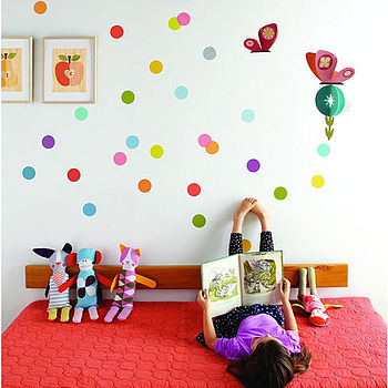 Confetti Fabric Wall Decals