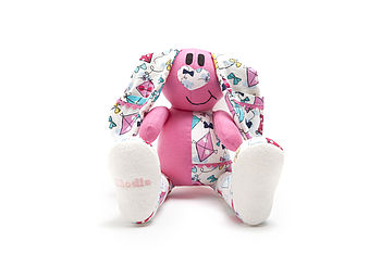 Personalised Baby Clothes Keepsake Bunny