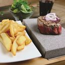 Lava Stone Steak Set