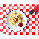 Checkered Cafe Placemat
