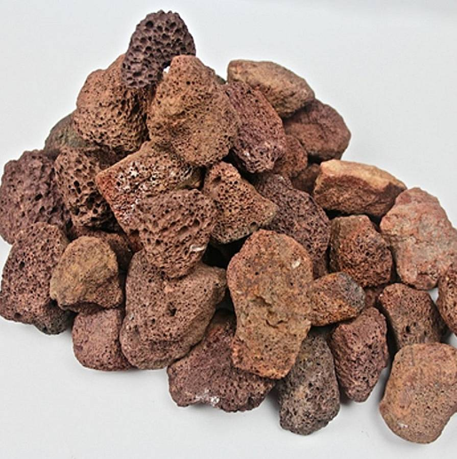 barbecue lava rocks by black rock grill notonthehighstreet.com