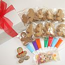 Gingerbread Men Decorating Kit