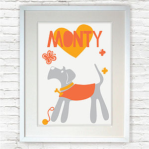 Personalised 'Schnauzer' Print - gifts for pet lovers