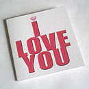 I Love You Oh Yes I Do! Card