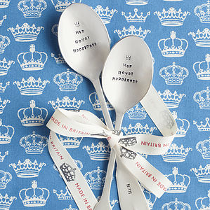 Royal Happiness Dessert Spoon - cutlery