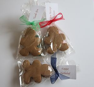 Mr And Mrs Gingerbread Favours - food & drink gifts