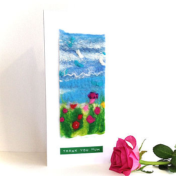 Mini Landscape Greeting Card