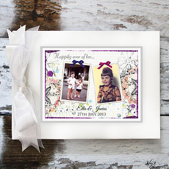 Wedding Guest Book With Photographs