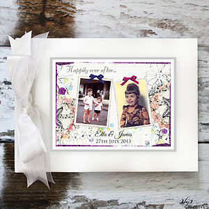 Wedding Guest Book With Photographs - guest books