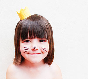 Wild Things Max Felt Crown Tiara - children's party ideas
