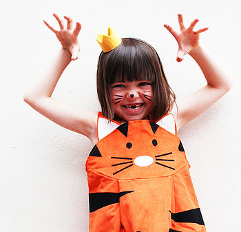 Tiger Girl's Play Dress