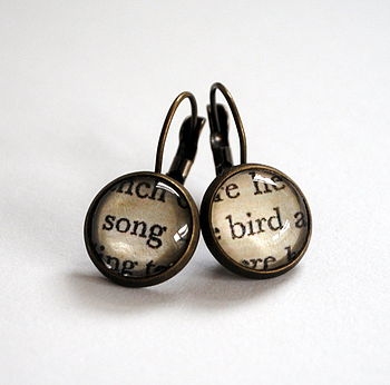 Secret Garden Song Bird Earrings