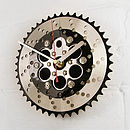 Thumb bmx two tone chainring clock