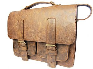 Handmade Leather Bag'Creased' - bags & purses